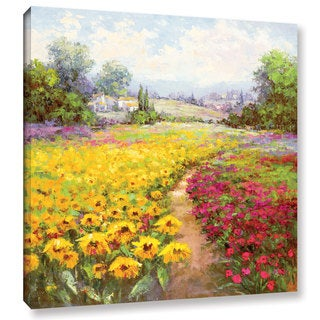 ArtWall 'Hulsey's Tuscan Pleasures I' Gallery Wrapped Canvas