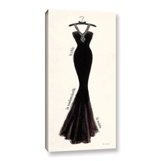 ArtWall 'Emily Adams's Couture Noir Original III' Gallery Wrapped Canvas