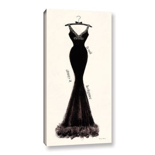 ArtWall 'Emily Adams's Couture Noir Original I' Gallery Wrapped Canvas