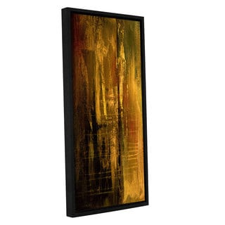 ArtWall 'Pied Piper's Gold Dust Contemporary' Gallery Wrapped Floater-framed Canvas