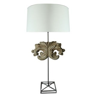 Powell Scroll Table Lamp