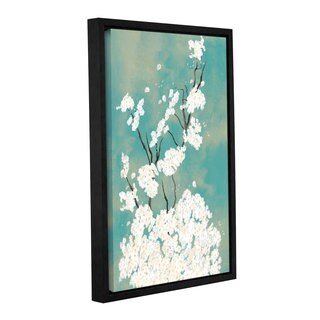 ArtWall 'Pied Piper's Side Bloom II' Gallery Wrapped Floater-framed Canvas