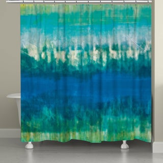 Laural Home Tie Dye Shower Curtain
