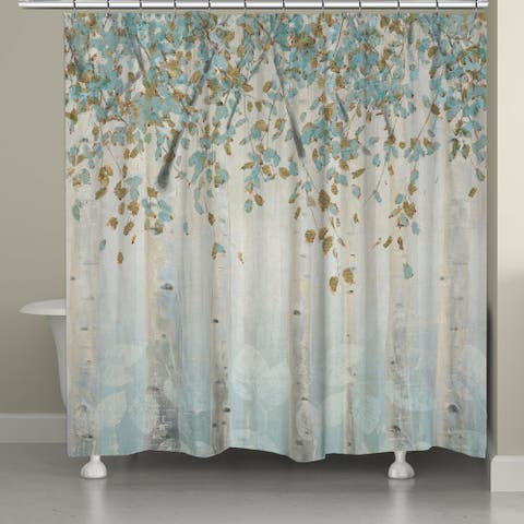 Laural Home 'Whimsical Forest' Shower Curtain
