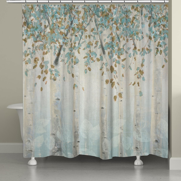 Shop Laural Home Whimsical Forest Shower Curtain