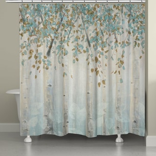 Attrayant Laural Home Whimsical Forest Shower Curtain
