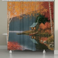 Laural Home Lakeside Shower Curtain