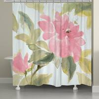 Laural Home Early Spring Blooms Shower Curtain
