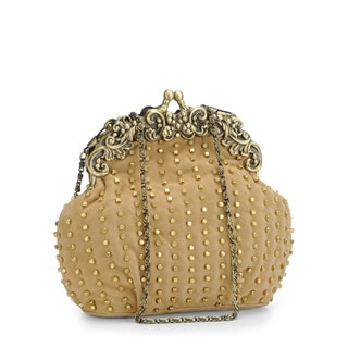 Jasbir Gill JG-249 Beige Leather Clutch (India)