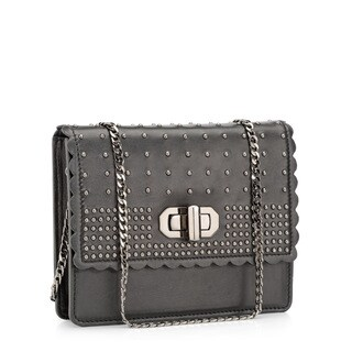 Jasbir Gill JG-205 Black Leather Clutch (India)