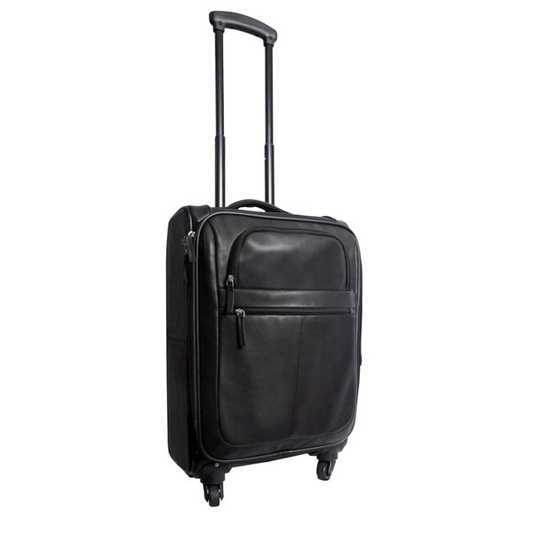 Canyon Outback Business Casual Leather 22 Inch Spinner