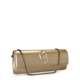 Jasbir Gill JG-206 Gold Leather Clutch (India)