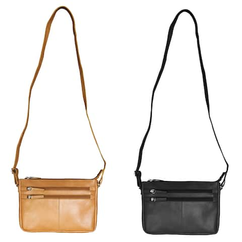 Canyon Outback Leather Zion Canyon Leather Crossbody Messenger Bag