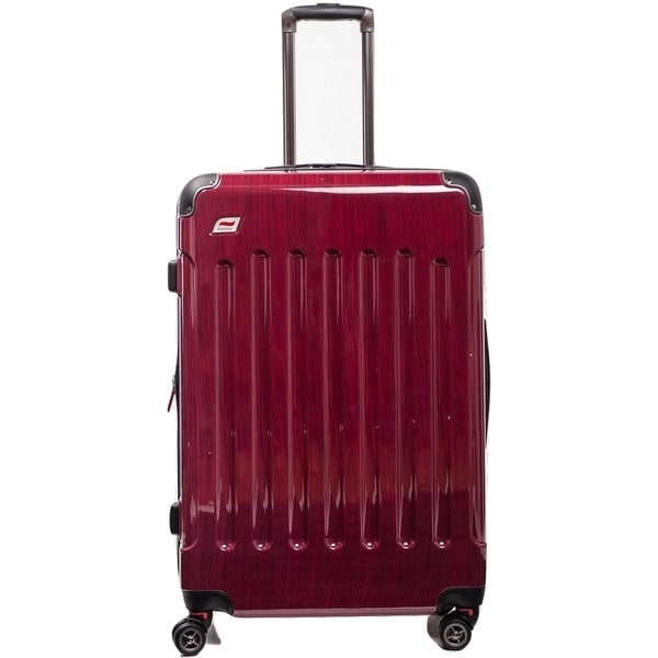 Andare Barcelona 28-inch Expandable Hardside Spinner Upright Suitcase