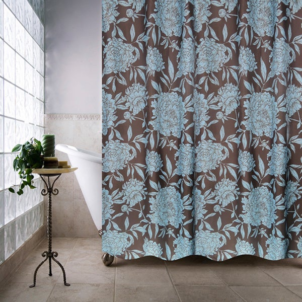 Park B. Smith Peony Watershed Shower Curtain