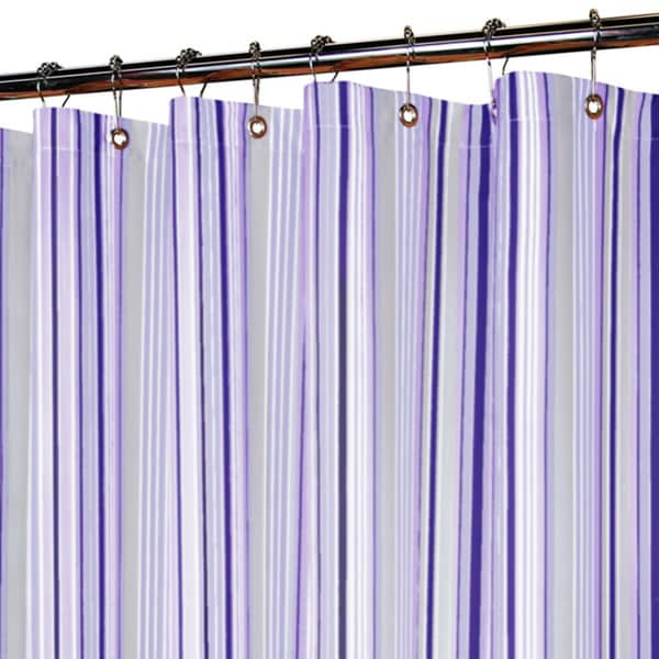 Park B. Smith Strings Stripe Watershed Shower Curtain