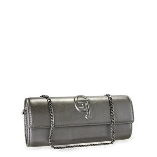 Jasbir Gill JG-208 Grey Leather Clutch (India)