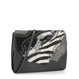 Jasbir Gill JG-216 Black Leather Clutch (India)