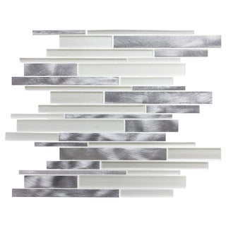 ICL H-4119 GLASS METAL MOSAIC (11 SF PER CASE)