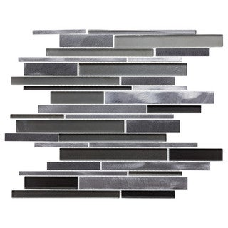ICL H-4110 GLASS METAL MOSAIC (11 SF PER CASE)
