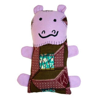 Handcrafted Little Friends Hippo (Malawi)