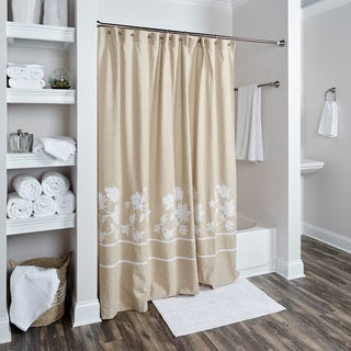 Sonnet Collection Shower Curtain by Rizzy Home