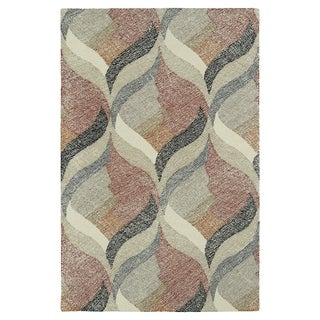 Hand-Tufted Mi Casa Multi Waves Rug (8' x 10')