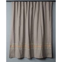 Shattered Leaves Collection Shower Curtain by Rizzy Home