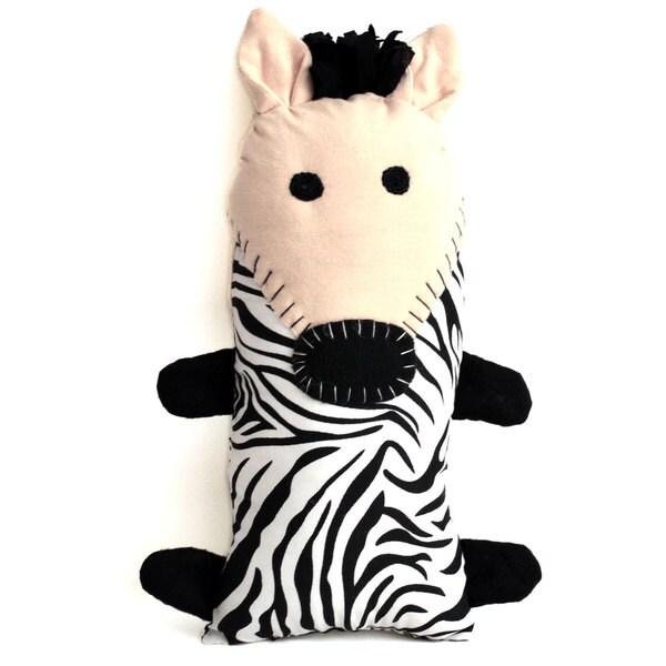 Handmade Little Friends Zebra (Malawi)
