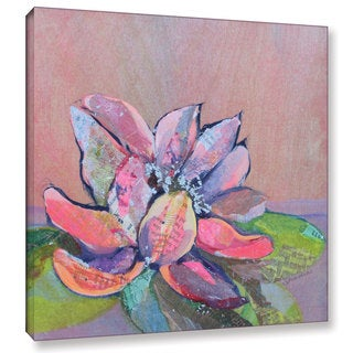 ArtWall 'Shadia Zayed's Lotus 4' Gallery Wrapped Canvas