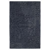 Hand-Tufted Mi Casa Blue Distressed Traditional Rug - 5' x 7'9""