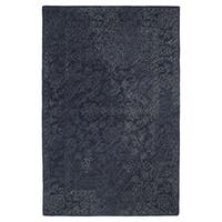 Hand-Tufted Mi Casa Blue Distressed Traditional Rug - 8' x 10'