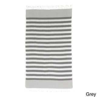 Brielle Stripes Pestemal Turkish Bath Towel