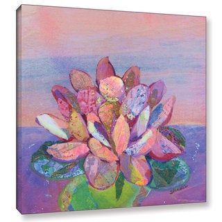 ArtWall 'Shadia Zayed's Lotus 2' Gallery Wrapped Canvas