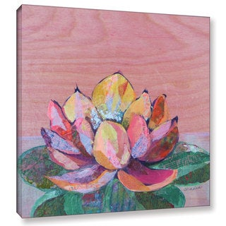 ArtWall 'Shadia Zayed's Lotus 1' Gallery Wrapped Canvas