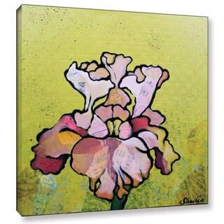 ArtWall 'Shadia Zayed's Iris IV' Gallery Wrapped Canvas