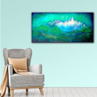 ArtWall 'Shadia Zayed's Into The Ocean' Gallery Wrapped Canvas