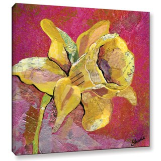 ArtWall 'Shadia Zayed's Early Spring I' Gallery Wrapped Canvas