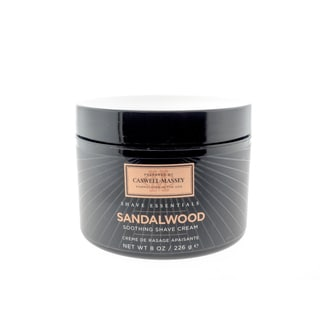 Caswell-Massey Sandalwood 8-ounce Soothing Shave Cream
