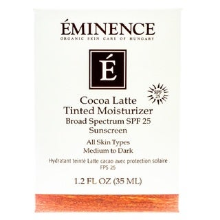 Eminence Cocoa Latte SPF 25 1.2-ounce Tinted Moisturizer