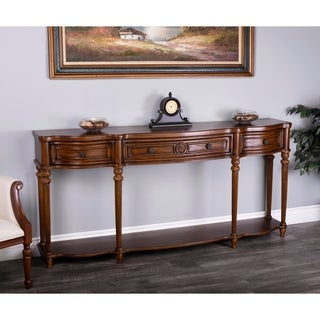 Butler Peyton Vintage Oak Console Table