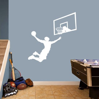 Basketball Slam Dunk Set' Large Wall Decals