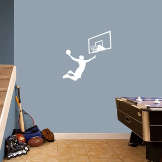 Basketball Slam Dunk Set' Small Wall Decals