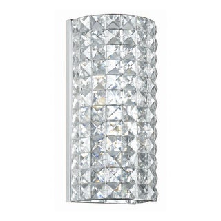 Crystorama Chelsea Collection 2-light Polished Chrome Wall Sconce