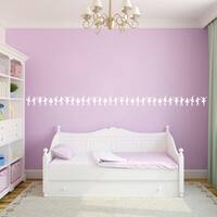 Ballerina Border Wall Decal 15-inch wide x 6-inch tall