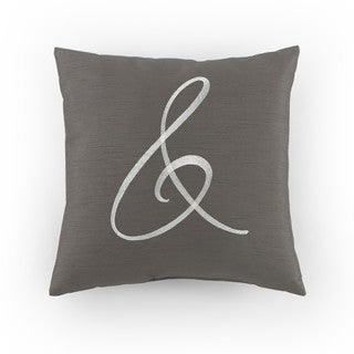 Kathy Davis Solitude Ampersand Decorative Pillow