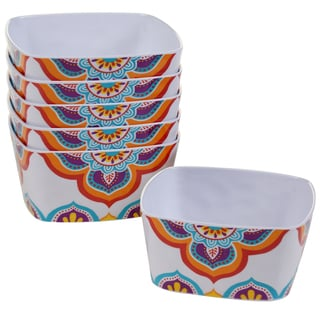 Certified International Akela Melamine 5.75-inch Ice Cream Bowl (Set of 6)