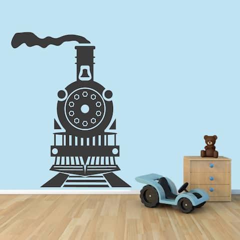 Train Wall Decal 48-inch wide x 60-inch tall