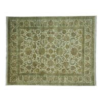 Rajasthan Pure Wool Hand-knotted Oriental Rug (8'2 x 10'4)