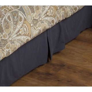 Rizzy Home Luke Cotton Bedskirt